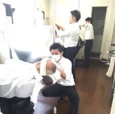 メンズヘアーミキ銀座マツナガ所属のメンズヘアーミキ