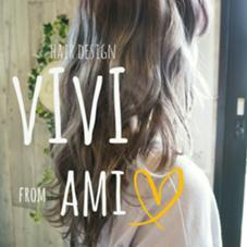 Hair Desin ViVi所属の稲増亜美香