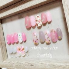 cheerfully nail所属の⭐️saya