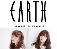 HAIR&MAKE EARTH所属の四元勝利