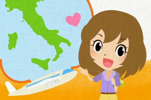 来週イタリアへ旅行します。の英作文