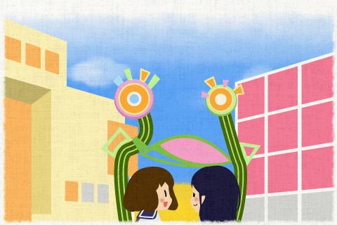 彼女らは買い物をするため、原宿(Harajuku)で待ち合わせた。の英作文