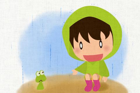 雨が降っているにもかかわらず弟は外で遊んでいる。の英作文