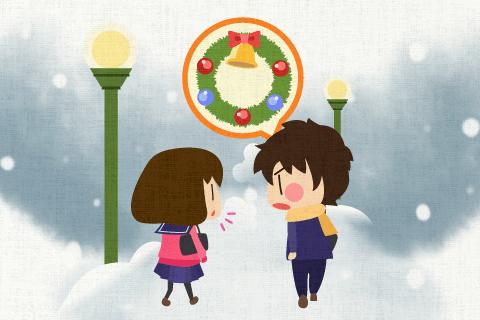 クリスマスには何か予定がありますか。の英作文