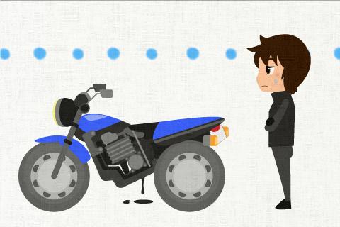 バイクが壊れたので、修理に出すか、新しいものを買わなければと思っている。の英作文
