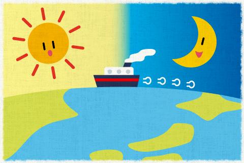 中国に船で行くのにどのくらい日数がかかりますか。の英作文