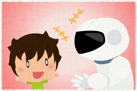 人間とロボットが同じように生活する時代がやってくるだろう。の英作文
