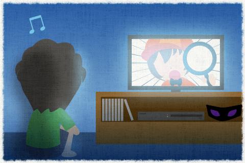 그는 그 탐정이 활약하는 애니메이션을 좋아한다.의 영작문