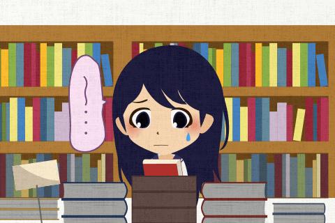 どの辞書を買ったらいいのか、その学生はなかなか決められませんでした。の英作文