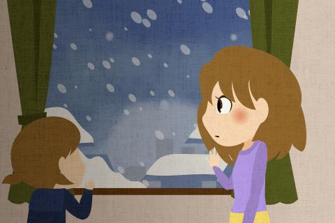 今年の冬は例年になく雪が多い。こんな大雪になったのは15年ぶりらしい。の英作文