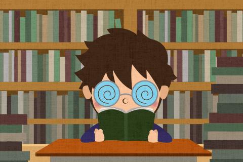 学生時代は、できるだけ沢山の本を読みなさい。の英作文