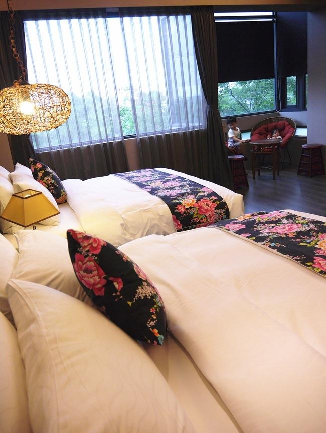 │宿。宜蘭礁溪│南洋渡假風的「波卡拉渡假會館」。田野別墅裡的飯店級禮遇