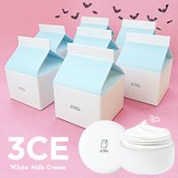 3CE ホワイトミルククリーム 10名