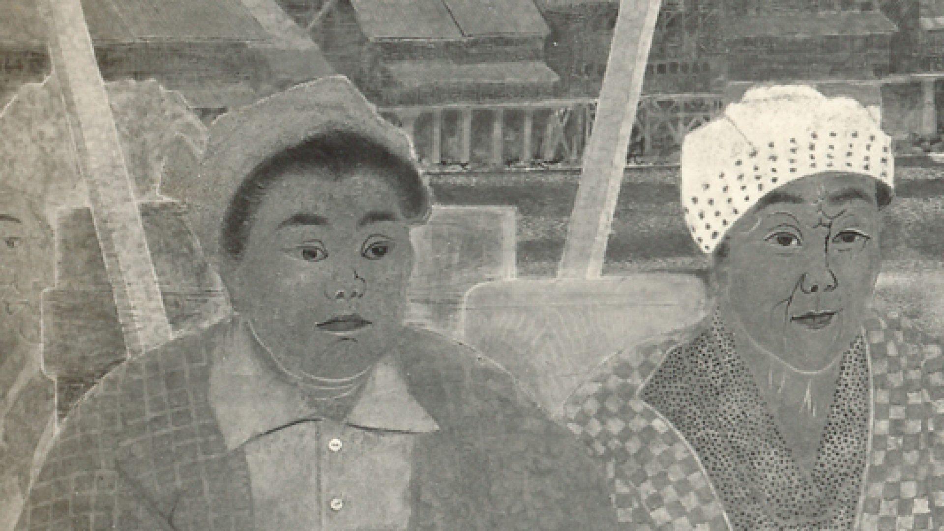日本画家 白岩伸介