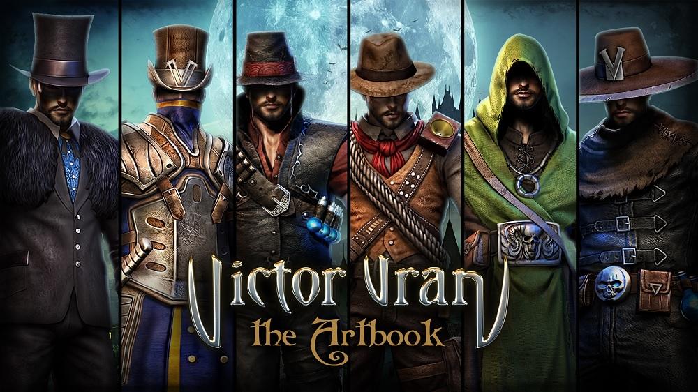 Victor Vran artbook