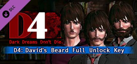 D4: デイビッド・ヤング髭 全解除キー