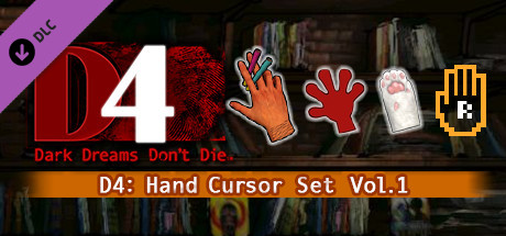 D4: ハンドカーソル着せ替えセット Vol.1