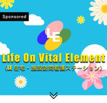 インフォグラフィックで描く Life On Vital Element (LE在宅・施設訪問看護ステーション)
