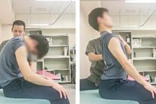 上肢挙上に必要な胸椎伸展機能を改善させるためのワンポイント