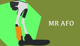 最新の片まひ向け装具「MR-AFO」自然な歩行をアシスト