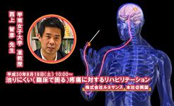 治りにくい(臨床で困る)疼痛に対するリハビリテーション|甲南女子大学 准教授 西上智彦先生