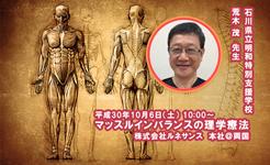マッスルインバランスの理学療法|荒木茂先生