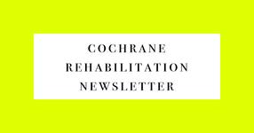 2020年7月 33号:コクランリハビリテーションニュースレター