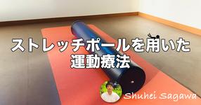 ストレッチポールを用いた運動療法