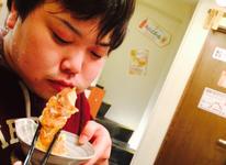 【連載スタート】大食いファイター理学療法士 漆原晴希 ~ 限界なき胃袋 ~ 餃子100個チャレンジ