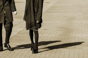 二つの影_セピア