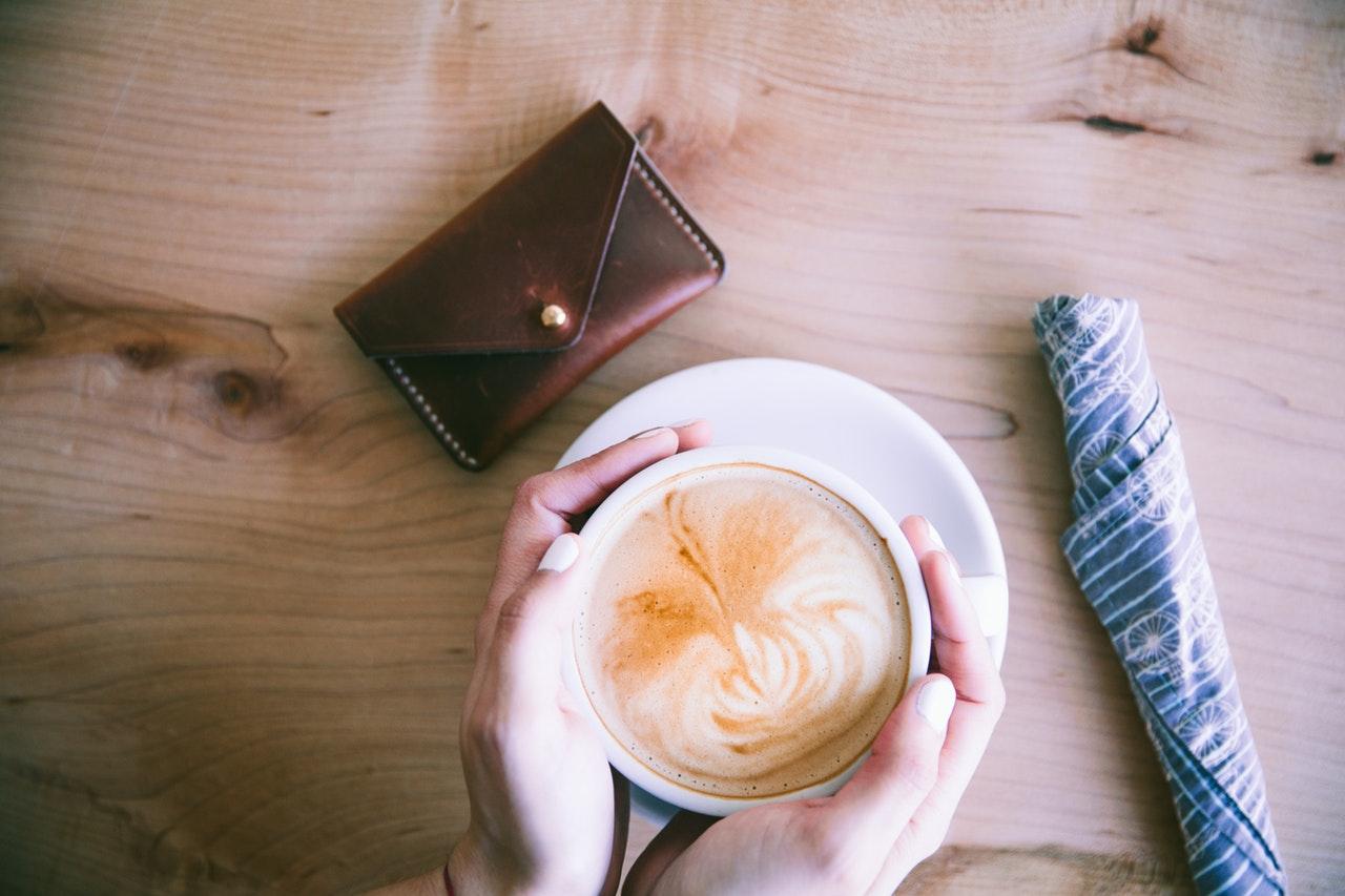 コーヒーと財布