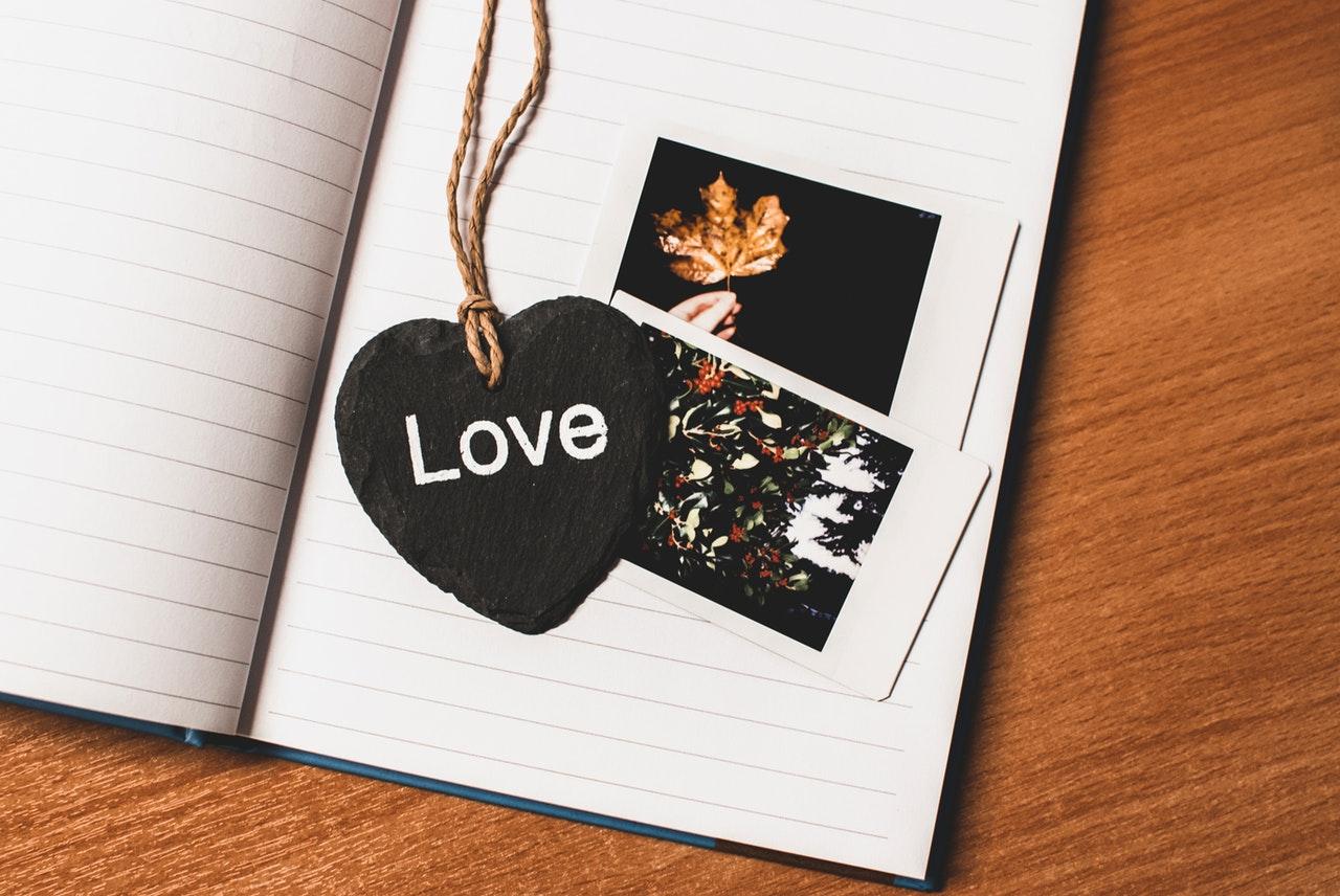 ノートと写真LOVE