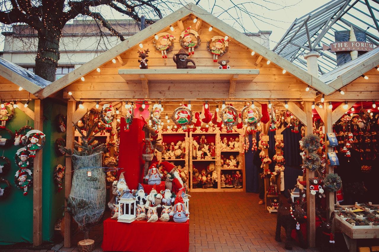 クリスマスグッツのお店