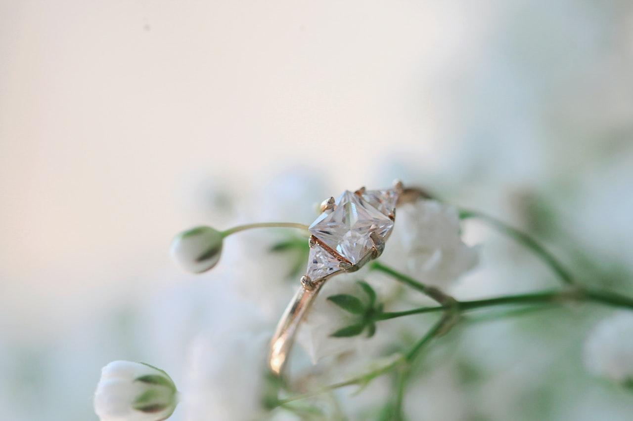 花とリング