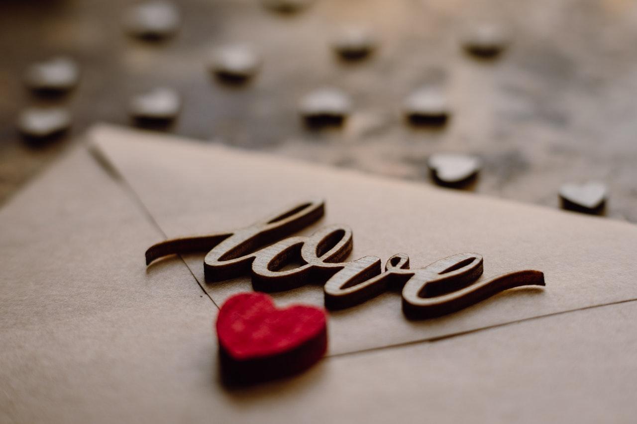 loveマークの手紙