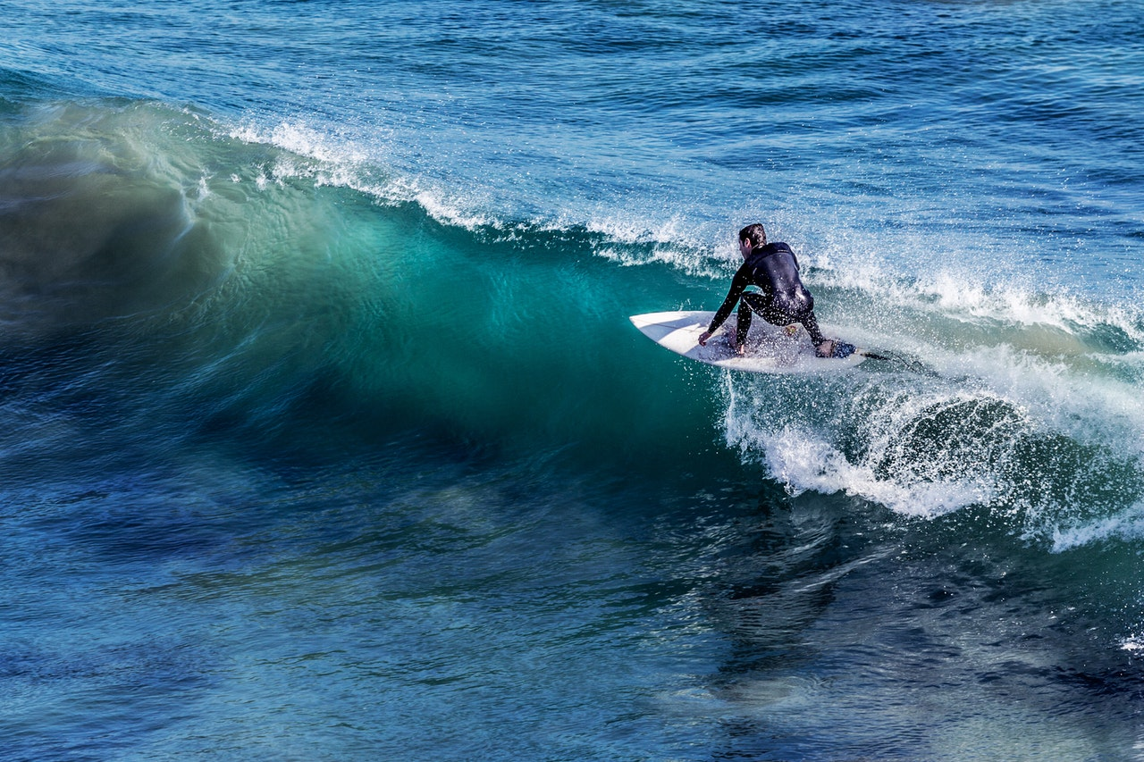 趣味のサーフィン