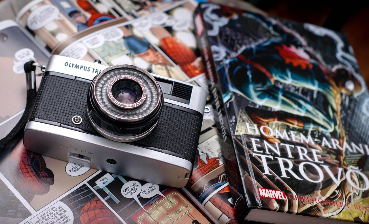 カメラとコミック