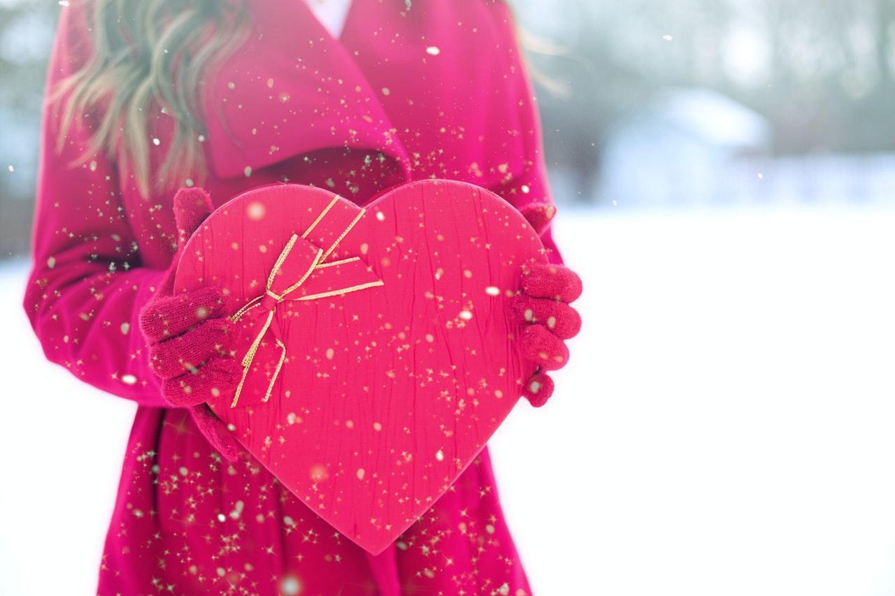 バレンタインとハート