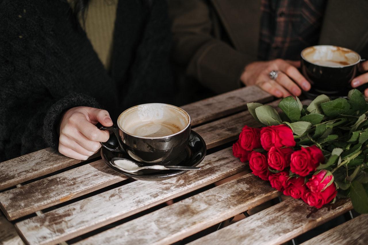 デートで花束