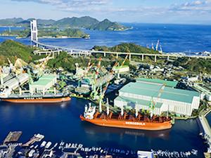 船舶建造量国内1位!社内システム構築で情報化を推進