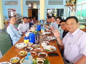 ミャンマーにおいての鉄道信号・鉄道通信マネージャー