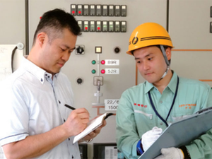 総合エネルギー事業の電気工事施工管理