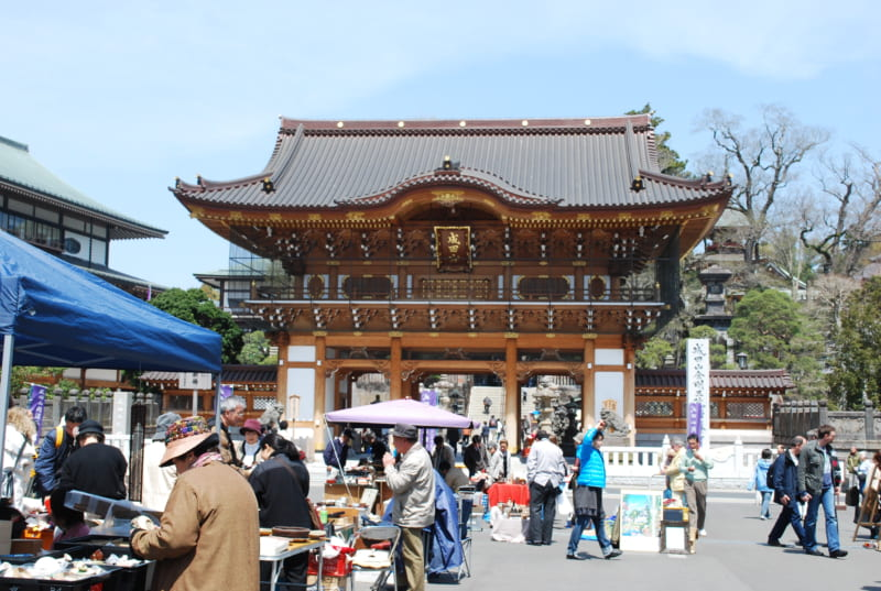 Naritasan Shinshoji Temple Antiques Fair