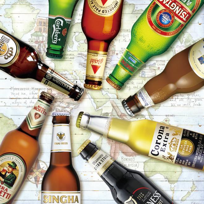 适合10种!世界啤酒之旅☆★世界啤酒之旅★☆
