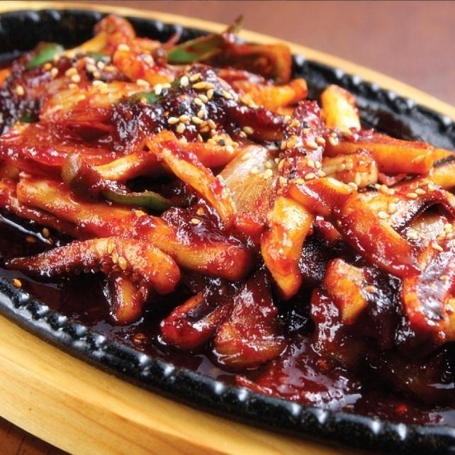 イカ野菜炒め/ブルタック