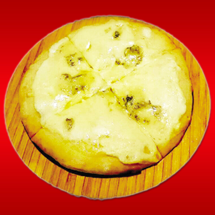 3種のMIXチーズのピザ