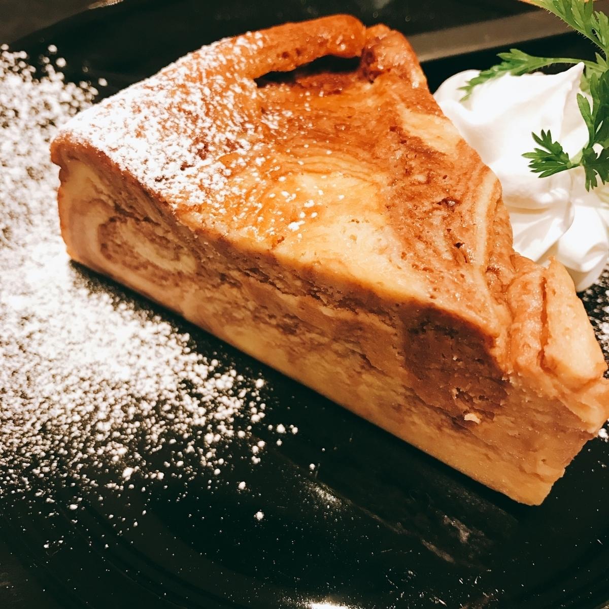 대리석 치즈 케이크