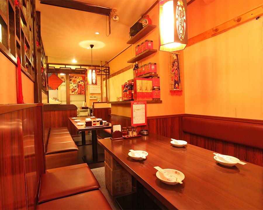 3~20名様の半個室席も大人気!真心込めた中華を是非ご堪能下さい!