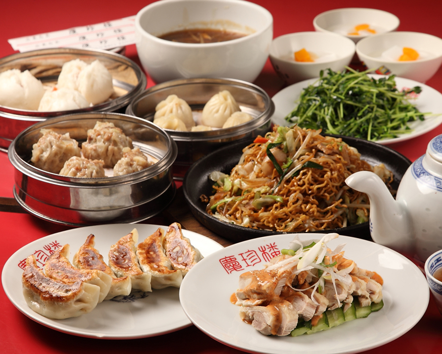 Dim Saturday course ♪ With all you can drink ★ Small Dragon Packet · Bread Meat · Burnout etc. 9 items in total for those who like dim sums!