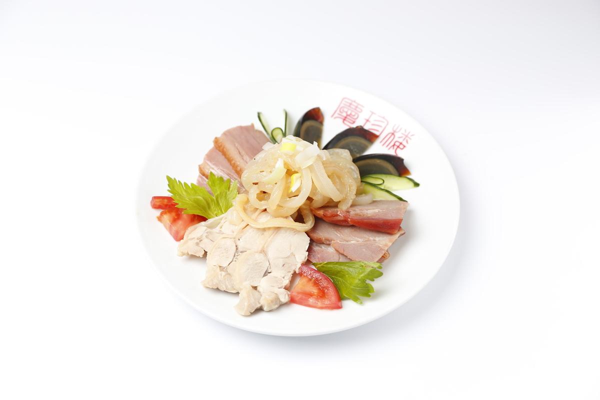 五種冷菜の盛り合わせ